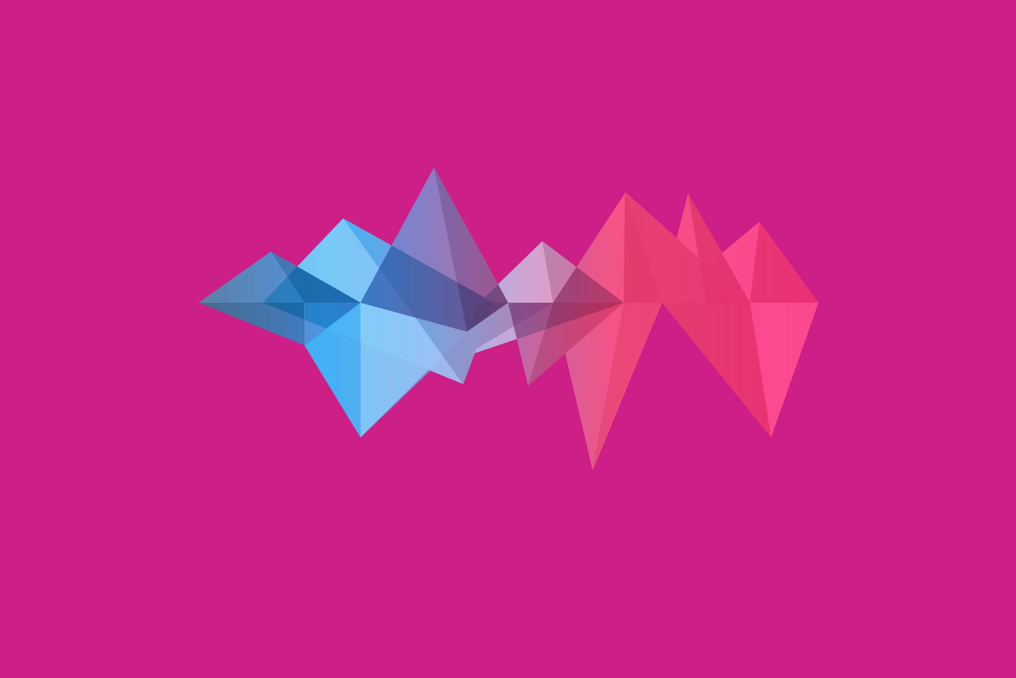 Pattern on pink background - SEO audit